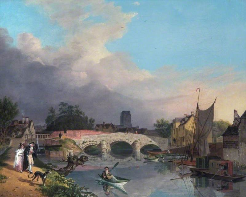 Old Hythe Bridge and Oxford Castle