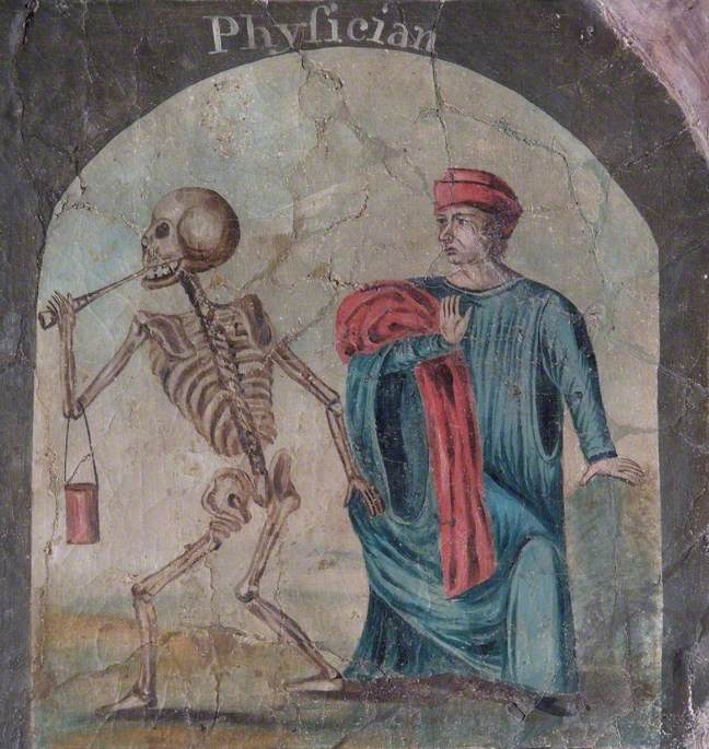The Dance of Death (Death Dancing with a Physician)