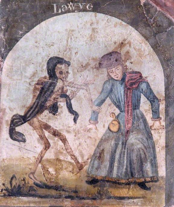 The Dance of Death (Death Dancing with a Lawyer)
