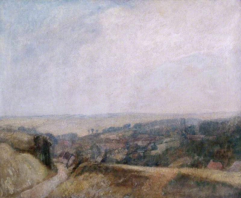 Landscape at Aldbourne, Wiltshire