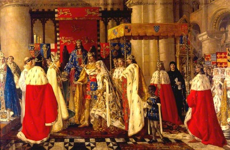 The Marriage of John of Gaunt and Blanche of Lancaster at Reading Abbey, 19 May 1359