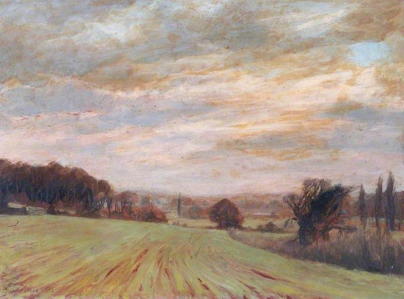Evening Landscape, near Sonning-on-Thames, Berkshire
