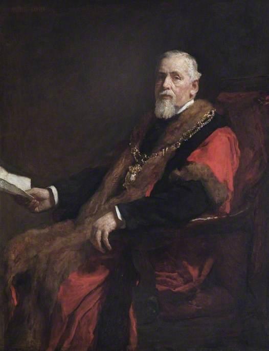 James Hughes (1817–1895), Alderman, Mayor (1864, 1869, 1883, 1884, 1886 & 1889)
