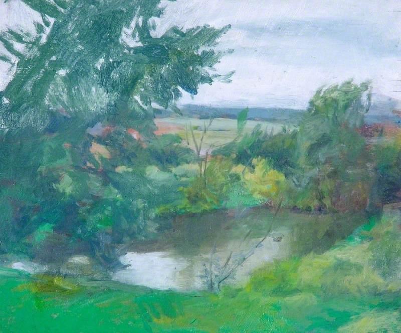 The Pond at Hawkshall