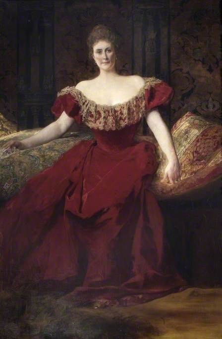 Henrietta Maria Walter (1843–1935), Wife of Arthur Fraser Walter of Bearwood, High Steward of Wokingham (1895–1910)