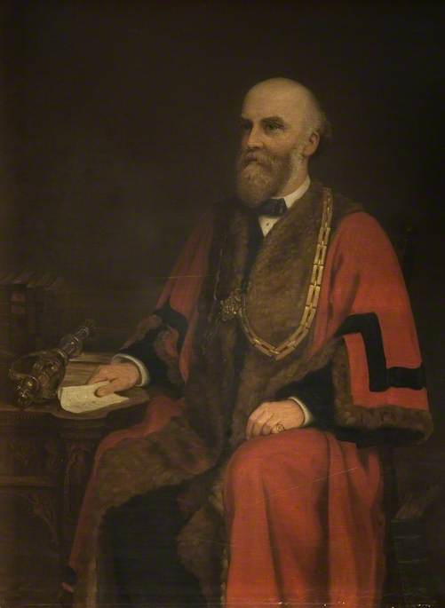 Joshua Hawkins (1845–1892), Mayor of Bedford (1883–1884, 1887–1888 & 1890)