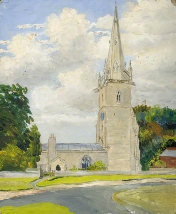 Exterior of Sharnbrook Church, Bedfordshire