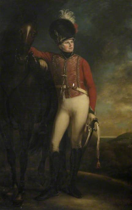 Major John Harvey of Ickwell Bury, Northill, Bedfordshire (c.1771–1819)