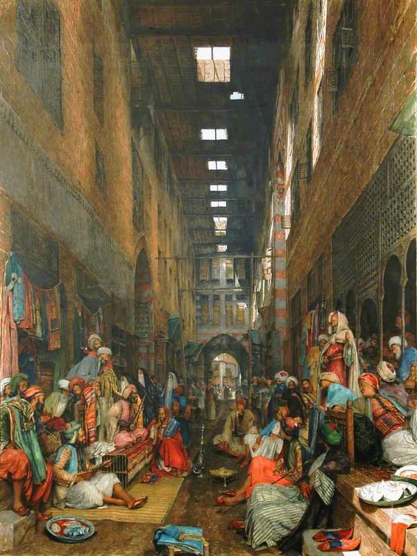 The Bazaar, Cairo