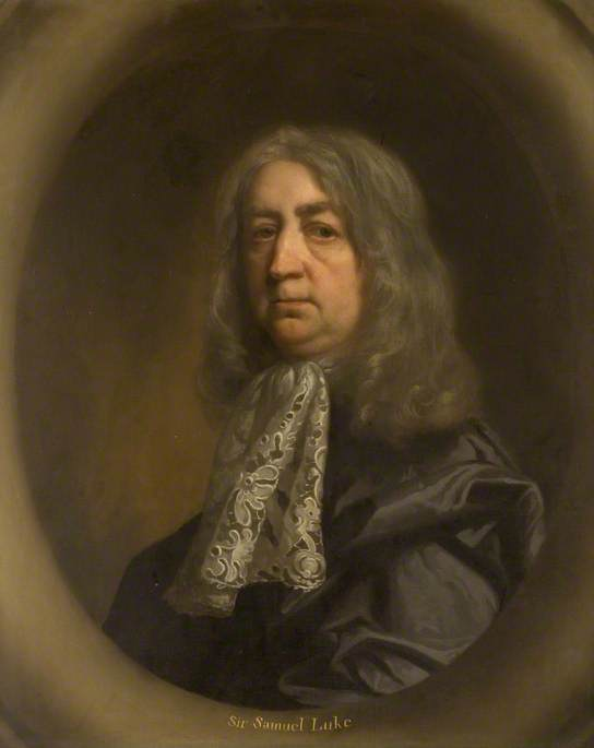 Sir Samuel Luke (1603–1670), Scoutmaster General in the Parliamentary Army