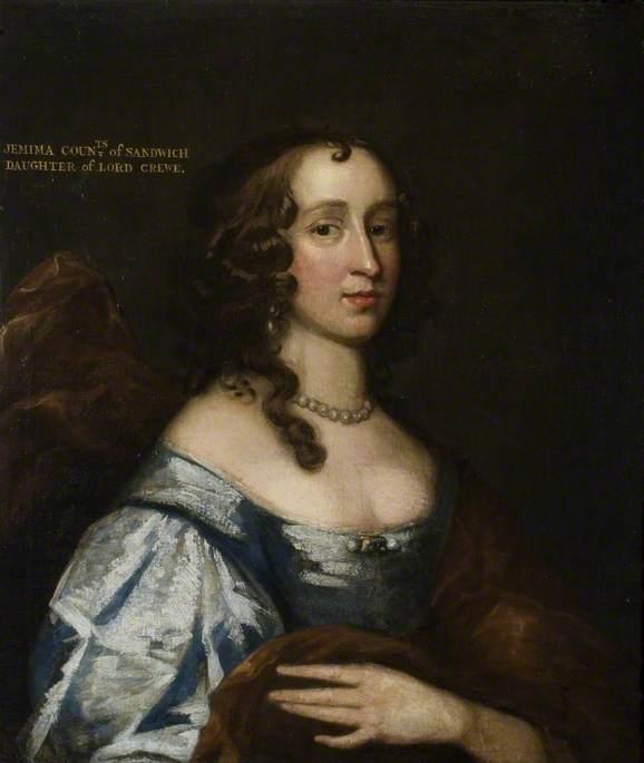 Jemima Crewe (1625–1674?), 1st Countess of Sandwich