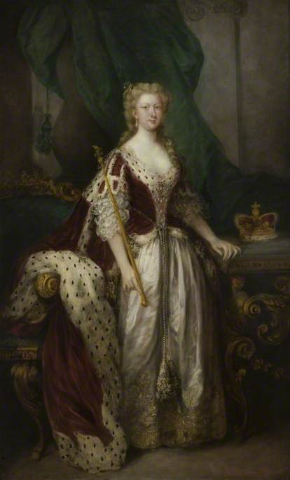 Caroline of Ansbach (1683–1737), Queen Consort of George II