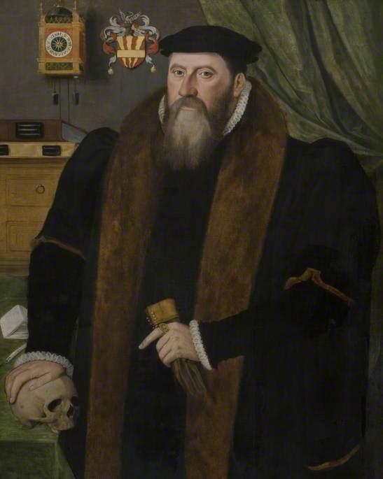 John Isham (1525–1595), Warden of the Mercers' Company