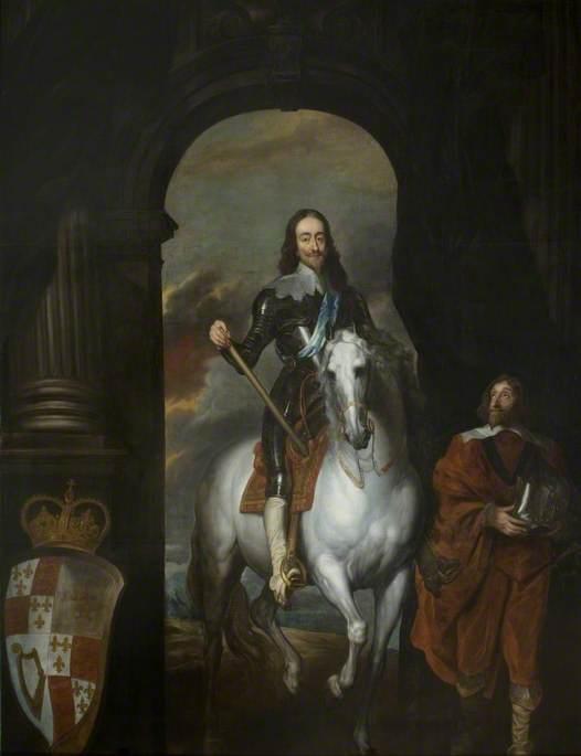 Charles I (1600–1649), on a White Horse