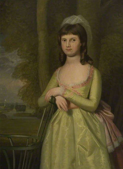 Miss Sophia Isham (d.1851), Wife of Thomas Palmer