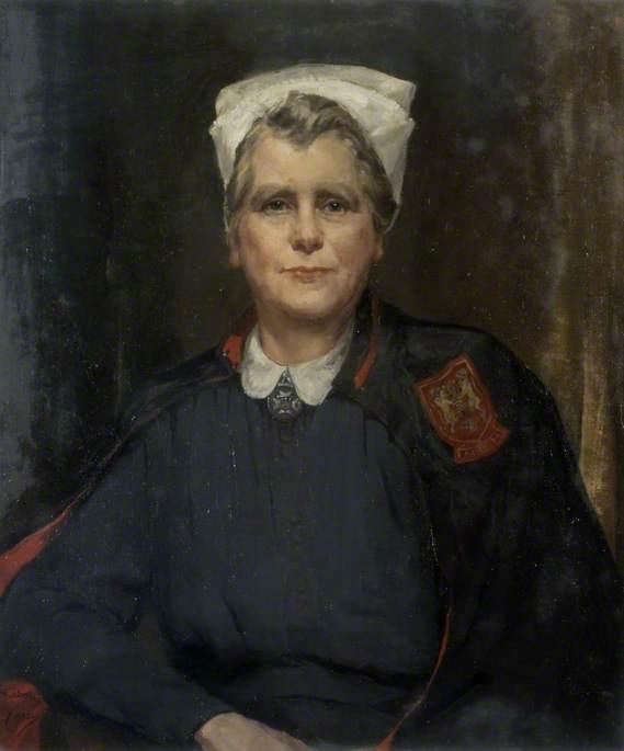 Miss C. E. Nelson (d.1954), Matron to Northampton General Hospital (1938–1954)