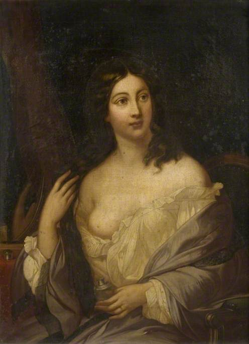 A Lady at Her Toilette, Allegory of Vanity