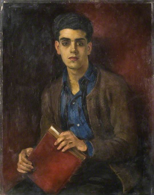 Portrait of an Anglo-Indian Student