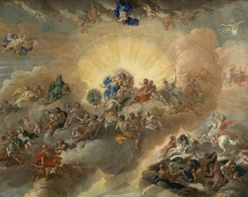 The Gods on Mount Olympus