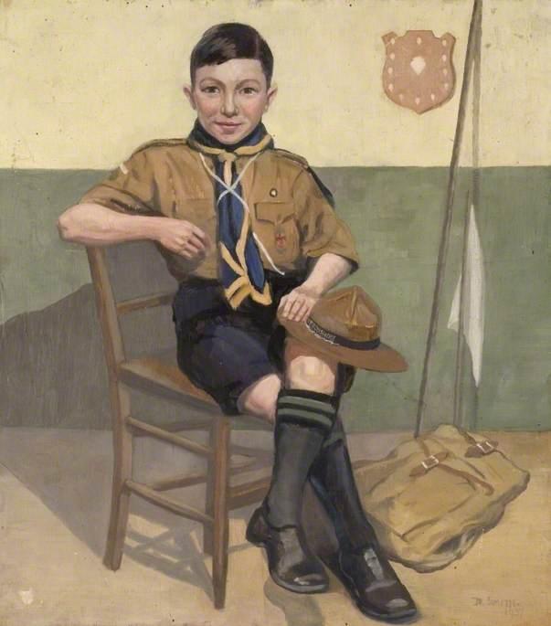 Jim England, Boy Scout