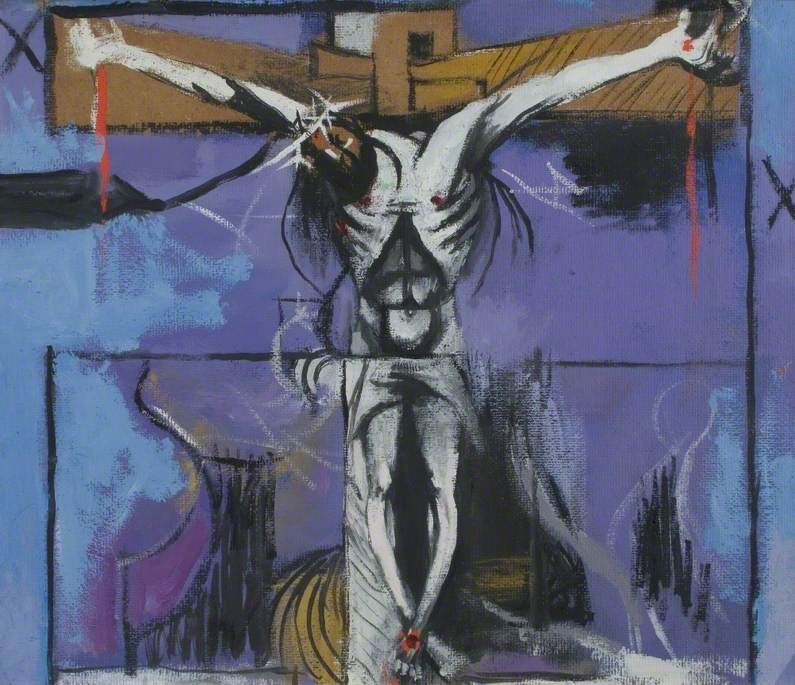 Sketch for 'The Crucifixion'