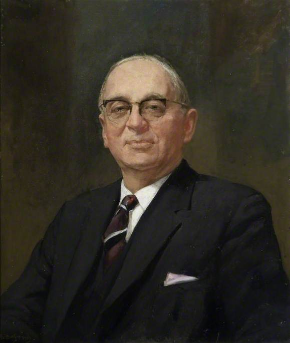 Councillor Ewart Marlow (b.1896/1897–1965), CBE, MC, Chairman of Northamptonshire County Council (1954–1965)