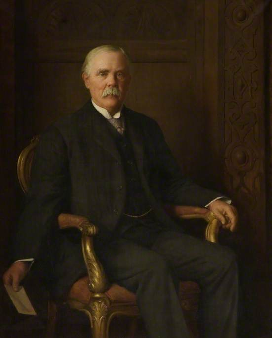 Sir William Ryland Dent Adkins (1862–1925), KC, Member of Northamptonshire County Council (1889–1925)