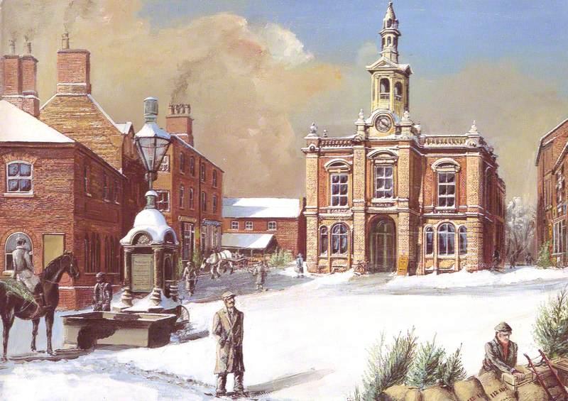 The Corn Exchange, Wellingborough, c.1905