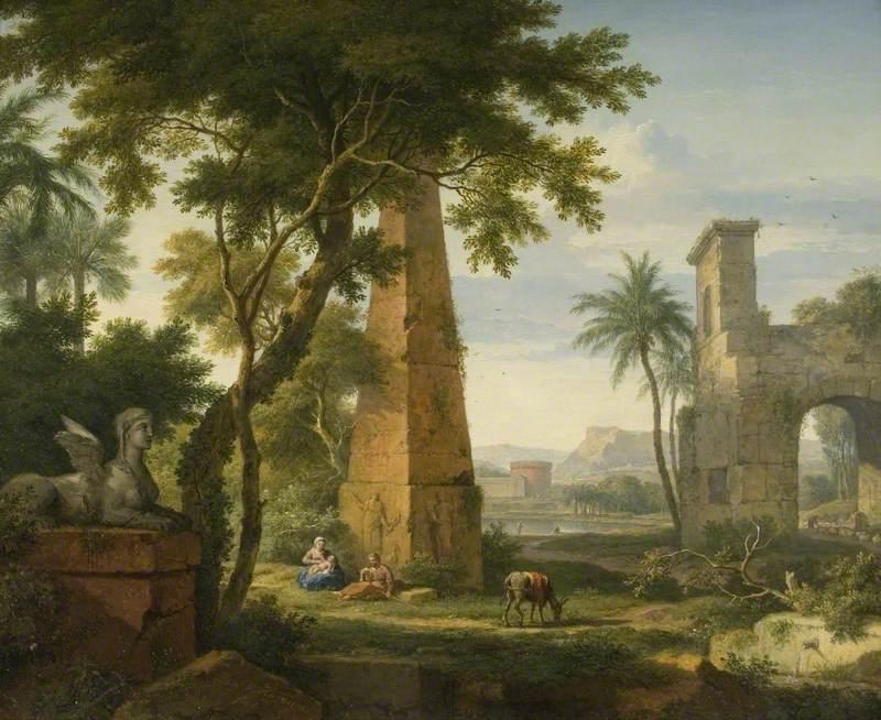 The Flight into Eqypt
