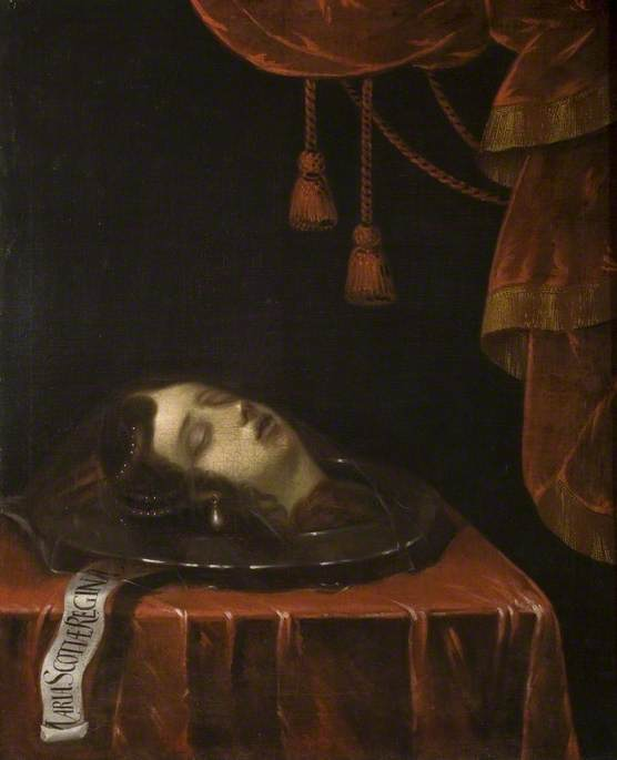 The Head of Mary, Queen of Scots after Her Execution
