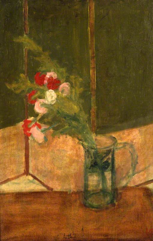 Carnations in Vase