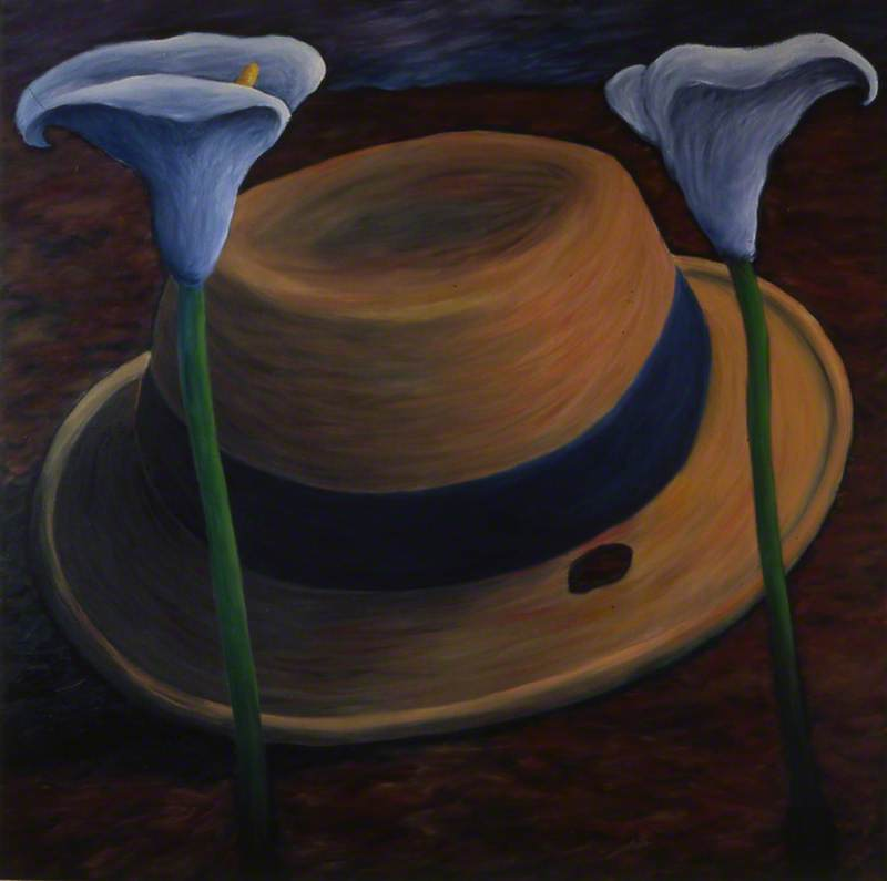 Connolly's Hat with Lilies