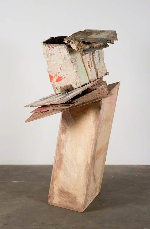 untitled: slidingupturnedhouse; 2015