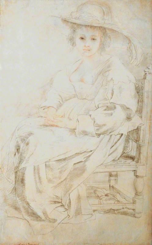 Portrait of Helena Fourment