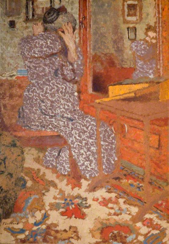 Madame Vuillard Arranging Her Hair