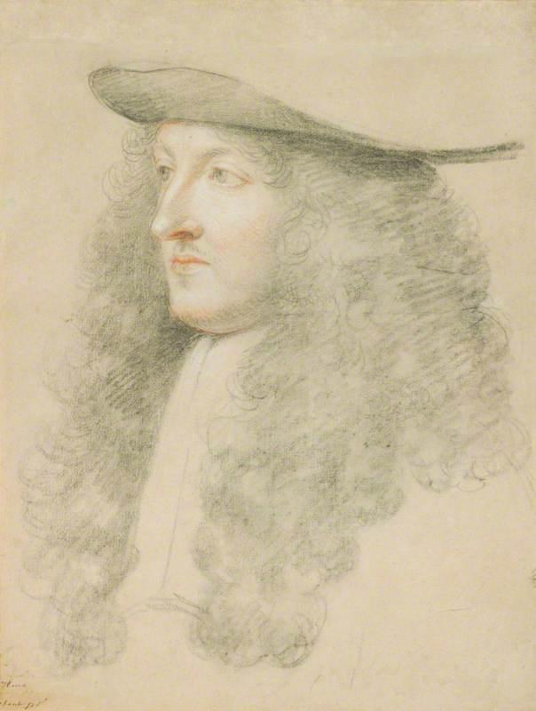 Portrait Head of Louis XIV