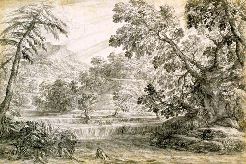 A Wooded River Landscape