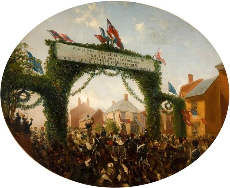 The Opening of Calthorpe Park, Birmingham