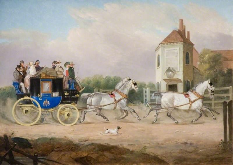 Stourbridge to Birmingham Royal Mail Coach