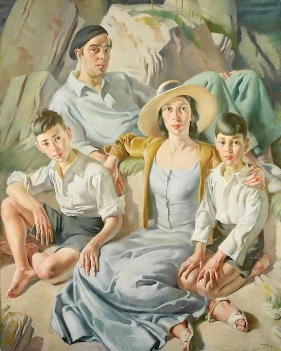 The Family at Polperro