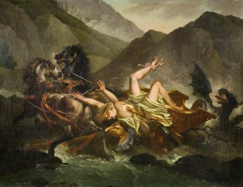 The Death of Hippolytus