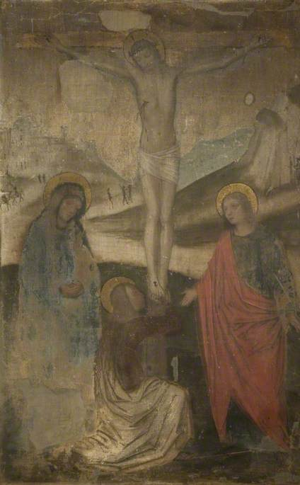 The Crucifixion with the Virgin, Saint John and Mary Magdalen