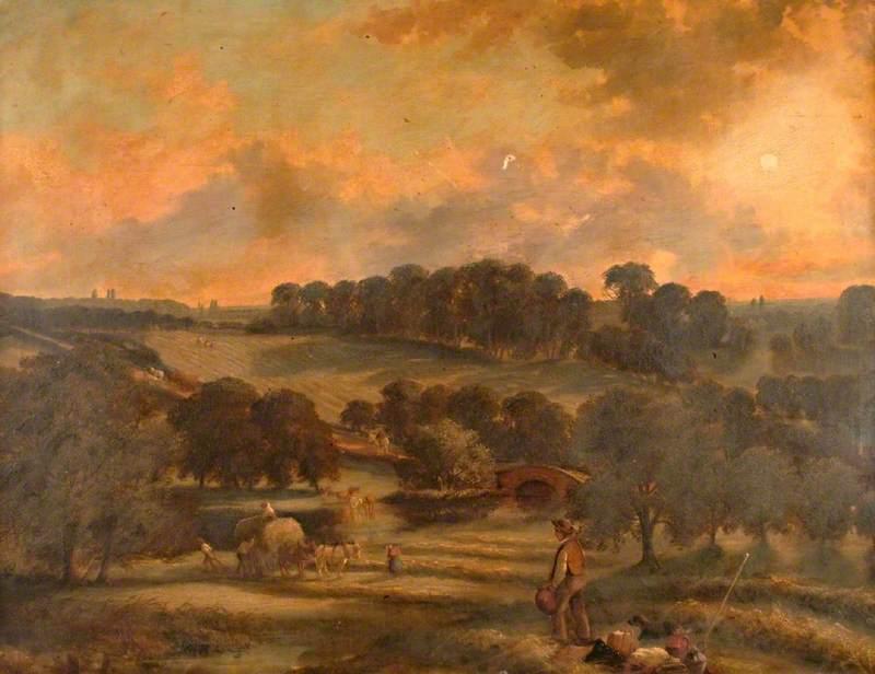 View of Hay Time, Hamstead Mill, Handsworth, Birmingham
