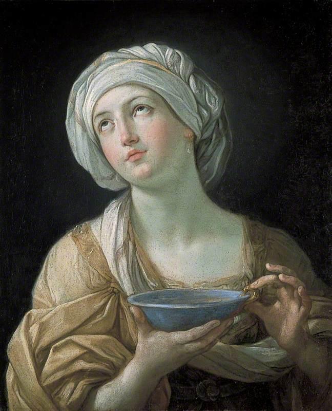 Portrait of a Woman (Lady with a Lapis Lazuli Bowl)
