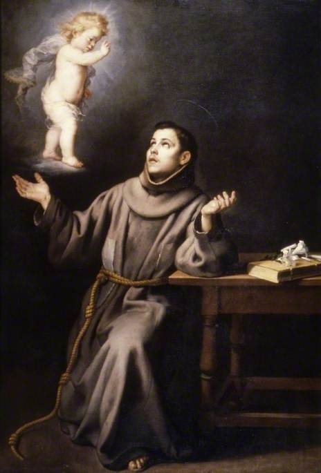 The Vision of Saint Anthony of Padua
