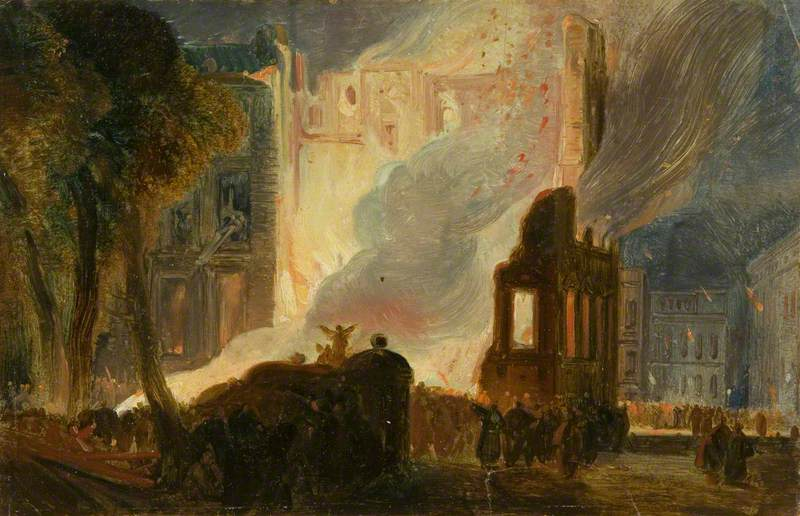 Bristol Riots: The Burning of the Mansion House, Queen Square