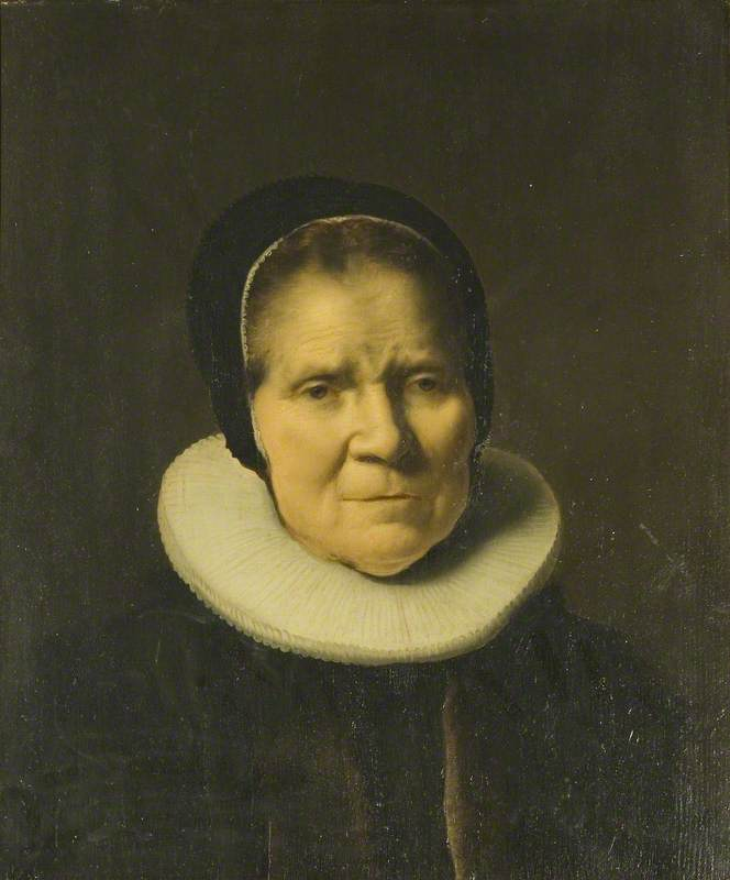 Portrait of an Unknown Old Woman
