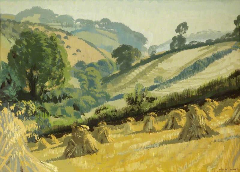 Landscape with Cornfield