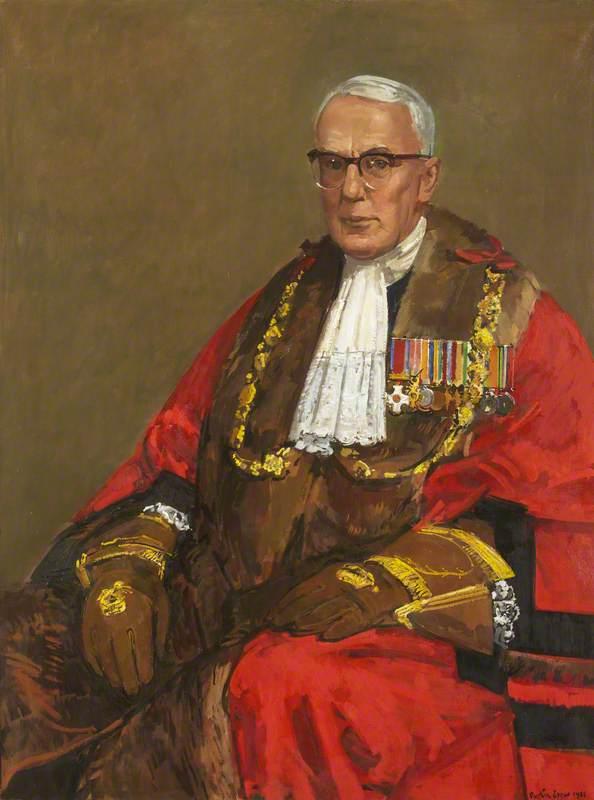 Kenelm Dalby, OBE, Lord Mayor of Bristol