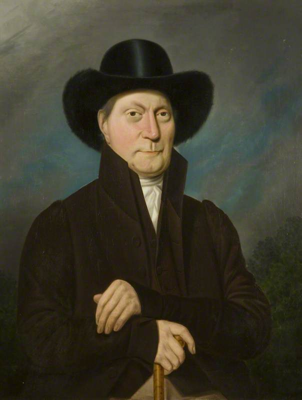 Portrait of an Unknown Man in a Beaver Hat